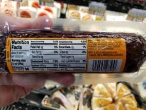 Natural Turkey Summer Sausage label