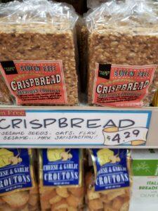 Gluten Free Crispbread