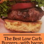 Best Low Carb Burgers