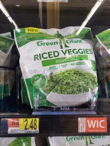 Green Giant Riced Veggies; Broccoli
