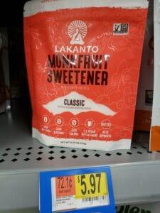 Monkfruit Sweetener