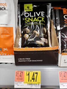 Gaea Olive Snack; Green, Kalamata & Marinated Green