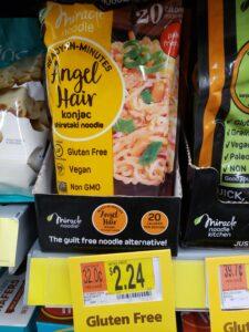 Miracle Noodle Angel Hair Konjac Shirataki Noodle