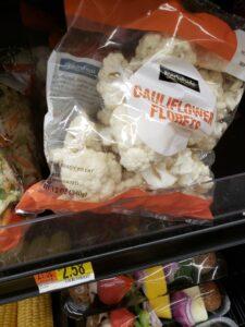 Precut Market side Cauliflower