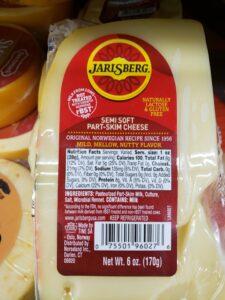 Jarlsberg label