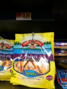 Land O Lakes Mild Cheddar and Colby Jack Cheese