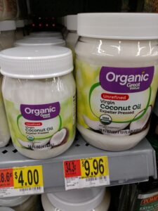 Great Value Organic Virgin Coconut Oil