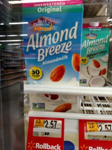 Almond Breeze Almond Milk Unsweetened