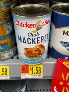 Chicken of the Sea Chub Mackerel