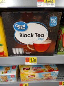black tea in store