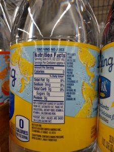 Deer Park Sparkling Lemon label