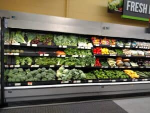 produce department in store