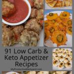 91 Low Carb Keto Appetizer Recipes Pinterest Pin