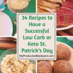 34 Recipes to Have a Successful Low Carb or Keto St. Patricks Day Pinterest pin