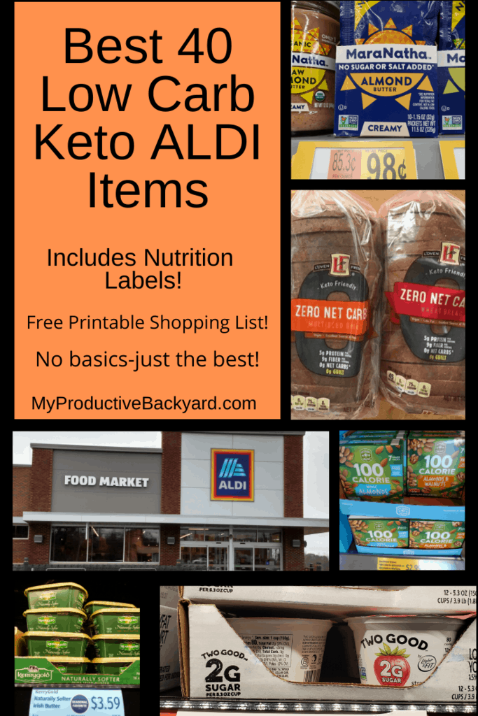 Best 40 Low Carb Keto Aldi Items