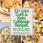 33 Low Carb Keto Cabbage Recipes Pinterest Pin