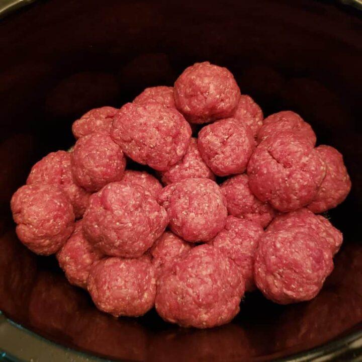 3 Ingredient Keto Crock Pot Meatballs