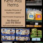 Best 40 Low Carb Keto Aldi Items Pinterest Pin