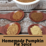 Homemade Pumpkin Pie Spice Pinterest Pin