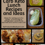 Hundreds of Low Carb Keto Lunch Recipes and Ideas Pinterest pin