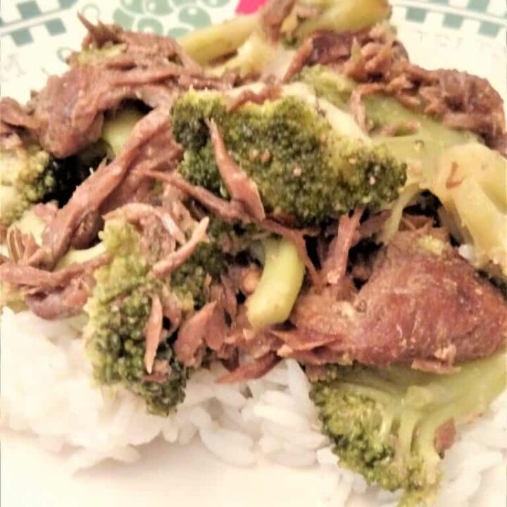 Crock Pot Beef and Broccoli Freezer Meal