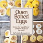 Oven Baked Eggs Pinterest pin