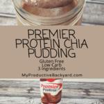 Premier Protein Chia Pudding Pinterest Pin