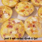 Scrambled Egg Muffins Pinterest Pin