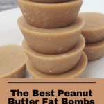 The Best Peanut Butter Fat Bombs Pinterest Pin