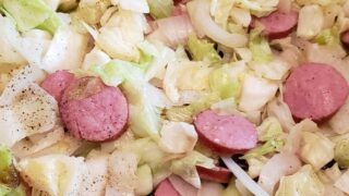 Cabbage and Smoked Sausage