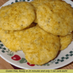 Low Carb Garlic Cheese Biscuits Pinterest Pin