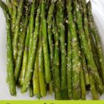 Roasted Parmesan Asparagus Pinterest pin