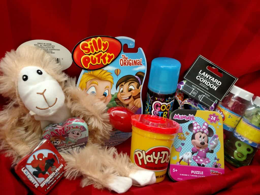 various small toys for stocking stuffers