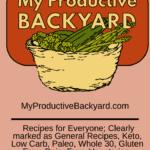 My Productive Backyard Pinterest pin