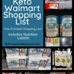 150+ Clean Keto Walmart Shopping List Pinterest pin