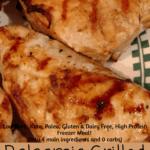 Balsamic Grilled Chicken Pinterest pin