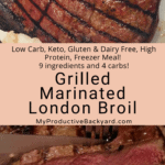 Grilled Marinated London Broil Pinterest Pin