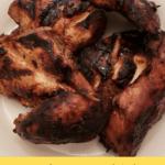 Karen's BBQ Chicken Freezer Meal Pinterest pin