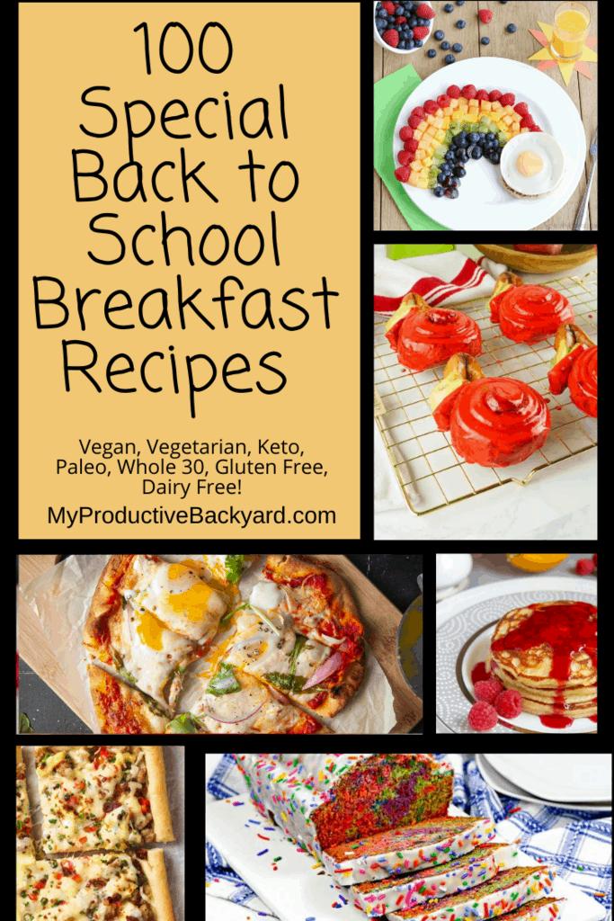 100 Special Breakfast Recipes Pinterest Pin