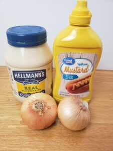 ingredients for Onion Relish