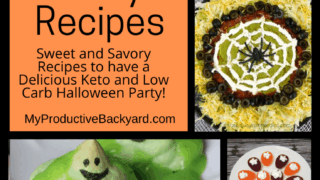 26 Keto Low Carb Halloween Party Recipes Pinterest Pin