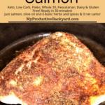 Blackened Salmon Pinterest Pin